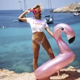 zwemring flamingo zwemband zwembad speelgoed