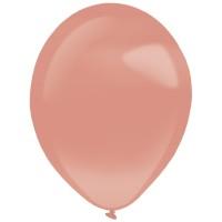 """Everts ballonnen Pearl Rosegoud 11"""" 50st"""