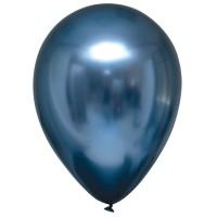 "Everts ballonnen Satin Luxe Blauw 11"" 50st"