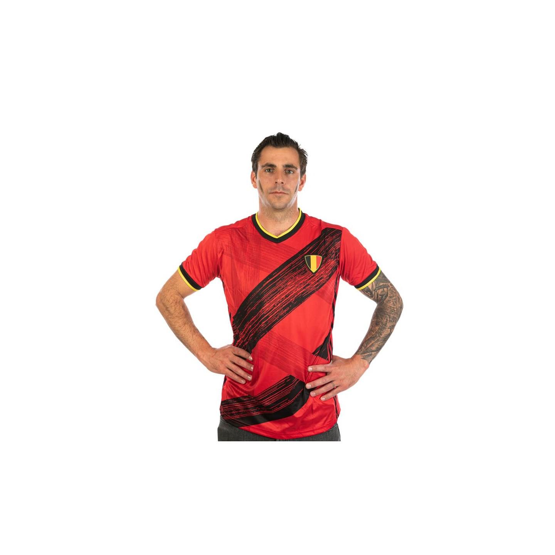 Belgie fan shirt heren supporters truitje 2021