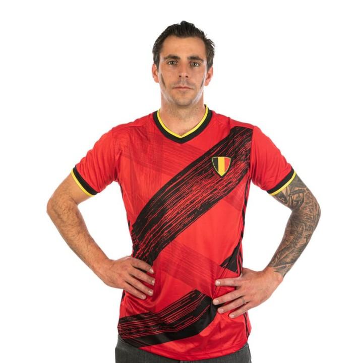 Belgie shirt unisex rood Fanshirt 2021