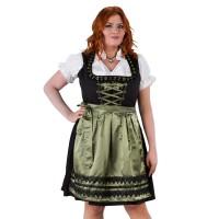 Dirndl jurk grote maat zwart/olijf tot mt 60!