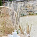 Pampas gras decoratie gedroogd naturel