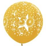 xl grote ballon 50 jaar goud