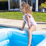 kinder zwembad rechthoekig blauw