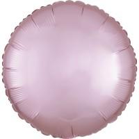 Folieballon Satin Luxe Pastel Roze rond 43cm