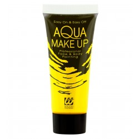 fluo neon makeup geel blacklight schmink