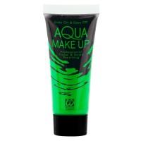 fluo neon makeup groen blacklight schmink