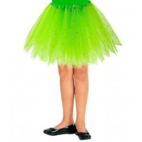 groene glitter tutu kind tule rokje carnaval
