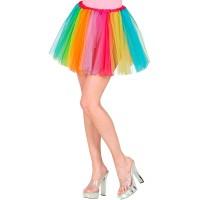 regenboog tutu volwassenen tule rokje carnaval