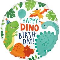Folieballon dinosaurus folie ballon dino feestartikelen