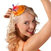 oranje mini hoedje supporters fanartikelen nederland