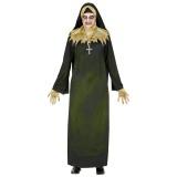zombie non kostuum halloween nonnen kleed