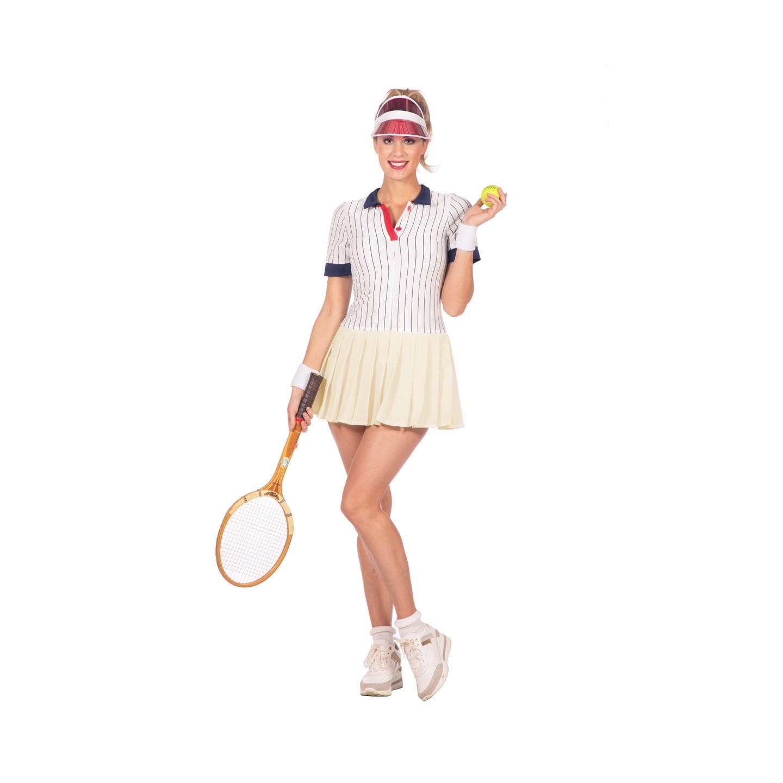 kleedje retro tennis outfit dames jurkje