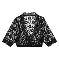 Dirndl blouse kant zwart