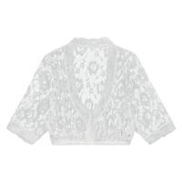 Dirndl blouse kant wit