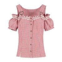 Tiroler mieder blouse dames grote maat