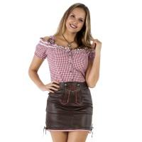 Tiroler rokje dames bruin Trachten kleding