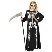 Skelet jurk kind lang