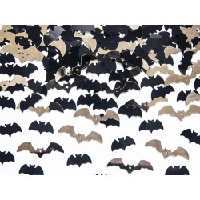 Halloween tafel confetti Vleermuisjes 15g