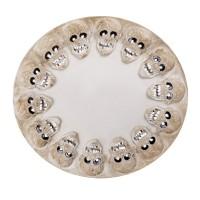 Dienblad schedels 40 cm