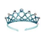 blauw Prinsessen kroontje kind tiara diadeem