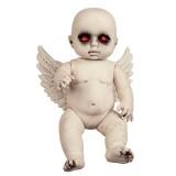 Vurige babyengel decoratie