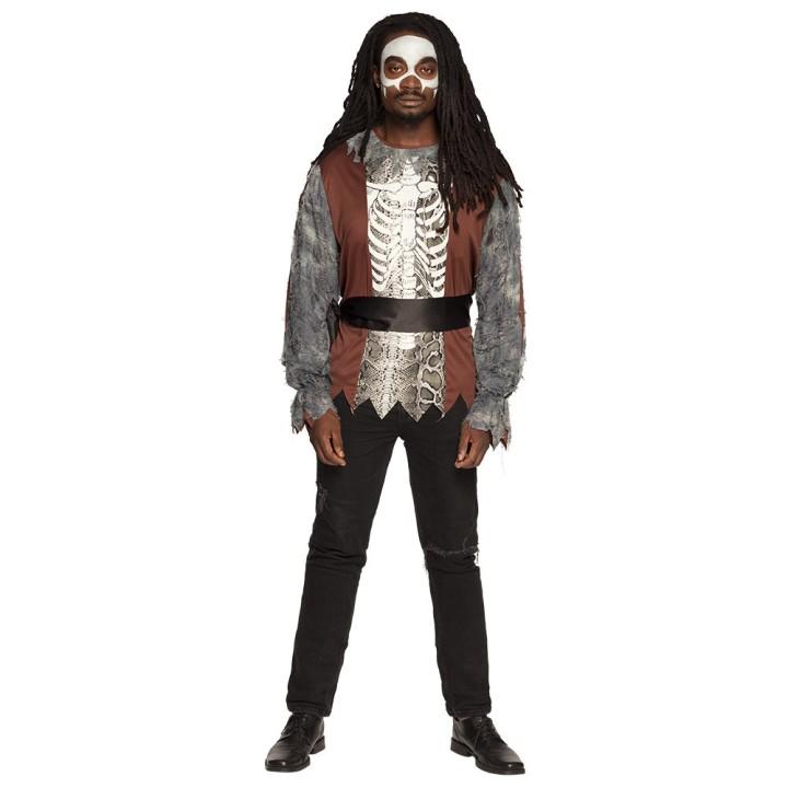 Voodoo kostuum heren Baron Samedi