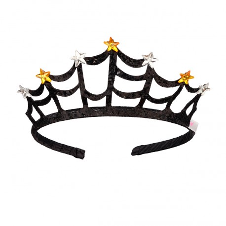 prinsessen kroontje spinnenweb halloween accessoires kind