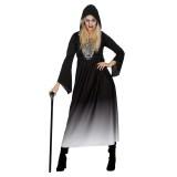 halloween kleding dames spinnenweb jurk