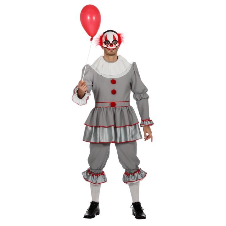 Halloween kostuum grijs heren