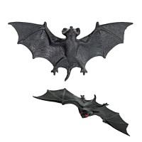 Halloween decoratie vleermuisjes 4 stuks, 11cm