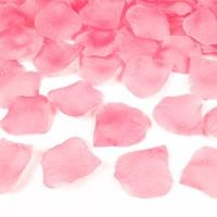roze rozenblaadjes huwelijk valentijn strooien