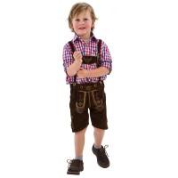 echte lederhose kind tiroler oktoberfest kleding