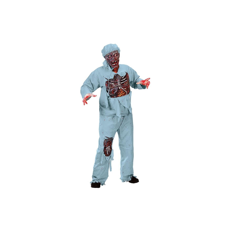 zombie chirurg kostuum heren halloween pak