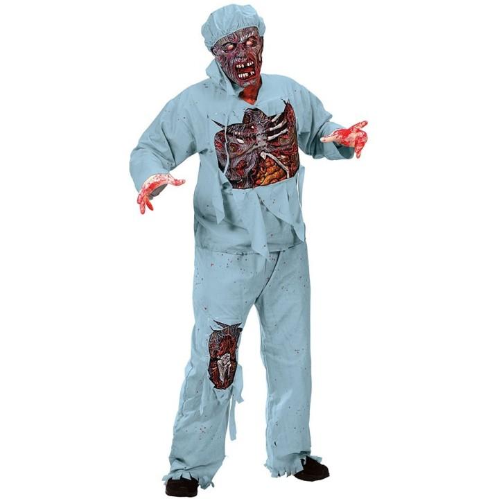 Zombie Chirurg pak heren incl. masker