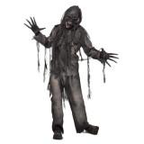 verbrande zombie kostuum heren halloween pak
