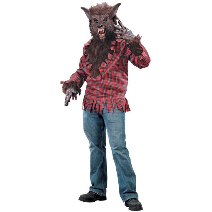 Weerwolf kostuum heren incl. masker