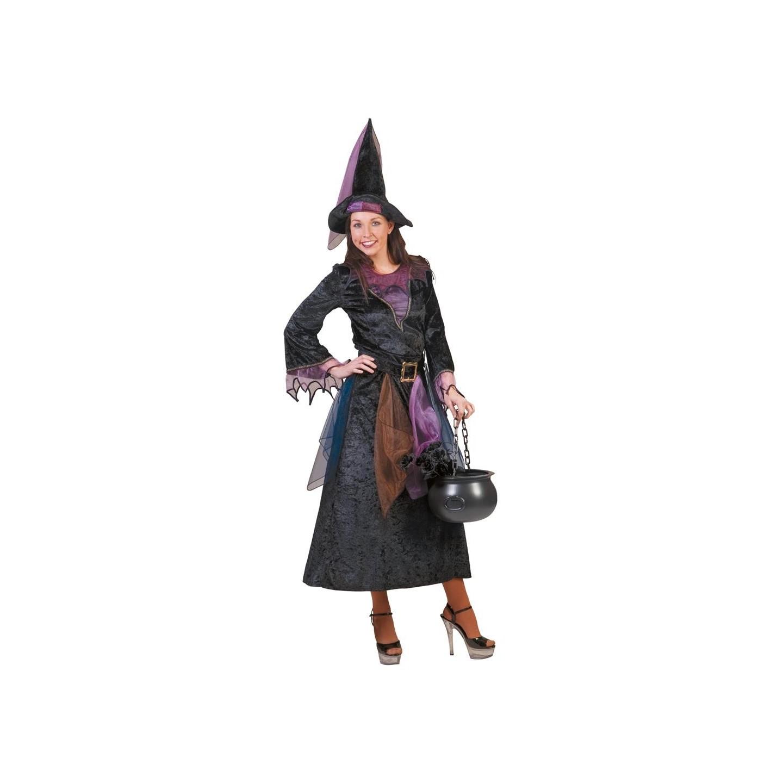 heksenjurk volwassenen halloween heksen kostuum dames