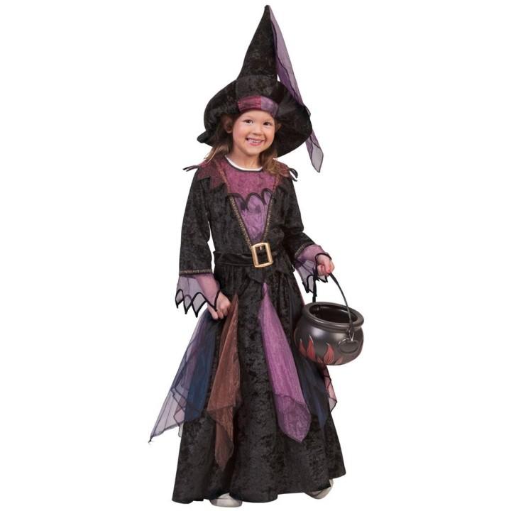 Heksenjurk + hoed Midnight kind