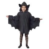 vleermuis pakje kind halloween kostuum cape