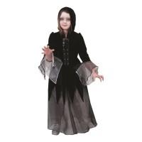 Gothic kostuum Dolores jurk kind