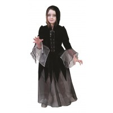 halloween kleding kind gothic jurk vampier