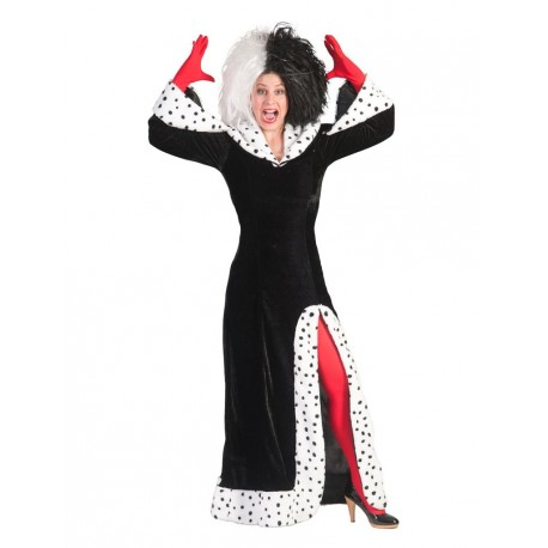 Cruella De Vil kostuum dames halloween