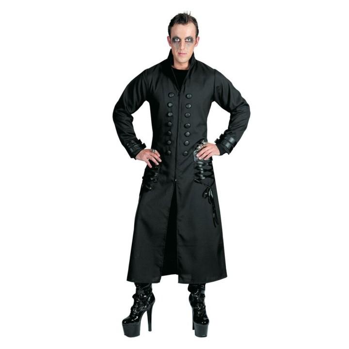 Gothic jas Night Fright zwart heren