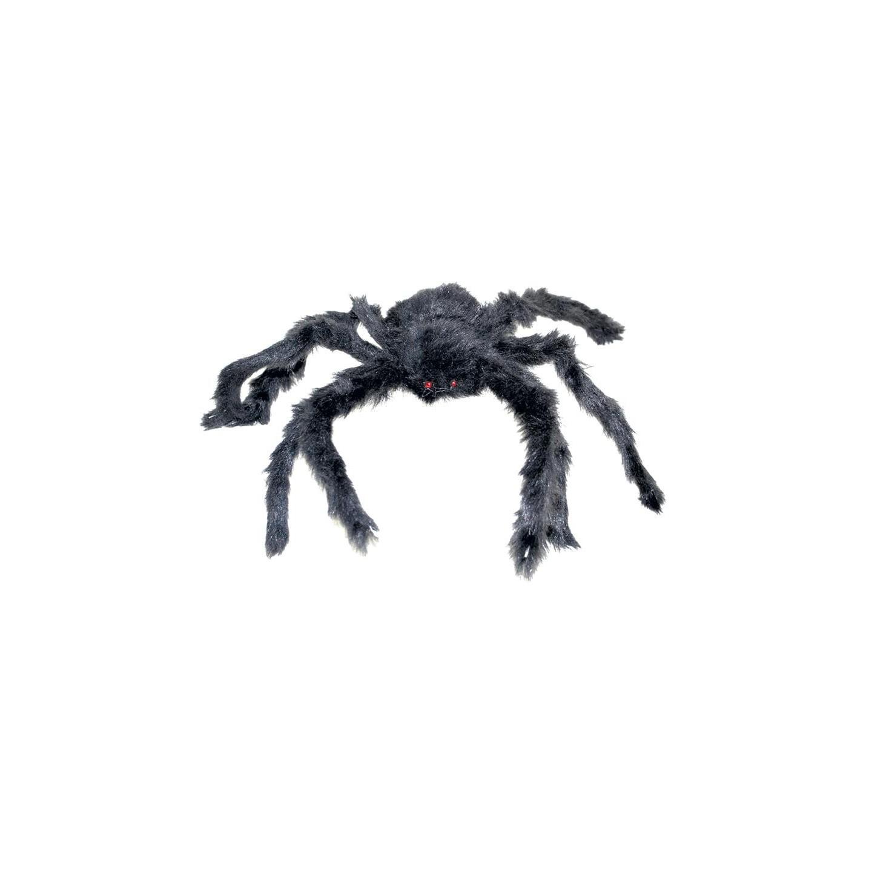 grote nep spin zwart halloween decoratie