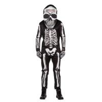 halloween skelet kostuum heren skeletpak volwassenen