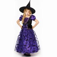 heksenjurk kind halloween heksen kostuum
