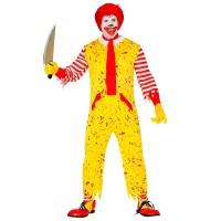 Mc killer clown kostuum halloween kleding