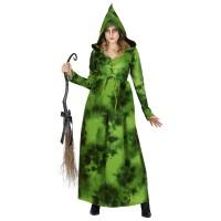 bosheks heksen kostuum moeder aarde dames